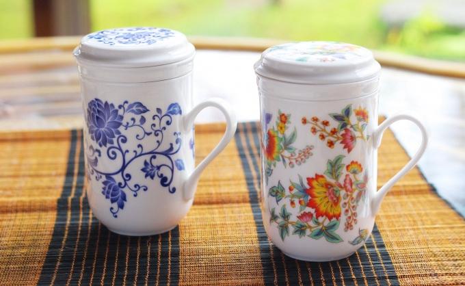 中国茶用 茶漉し マグカップ