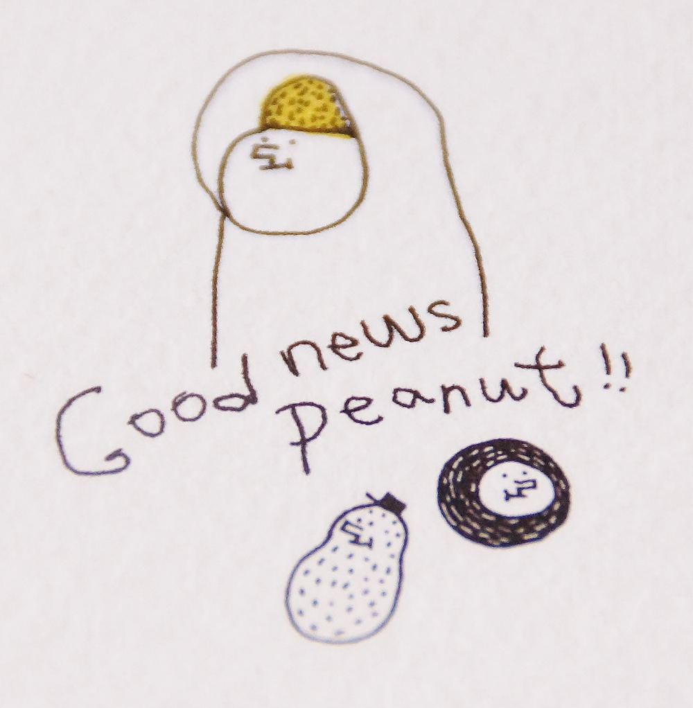 Good news Peanut!!