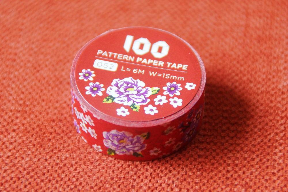 100色の100SWATCH PAPER TAPE