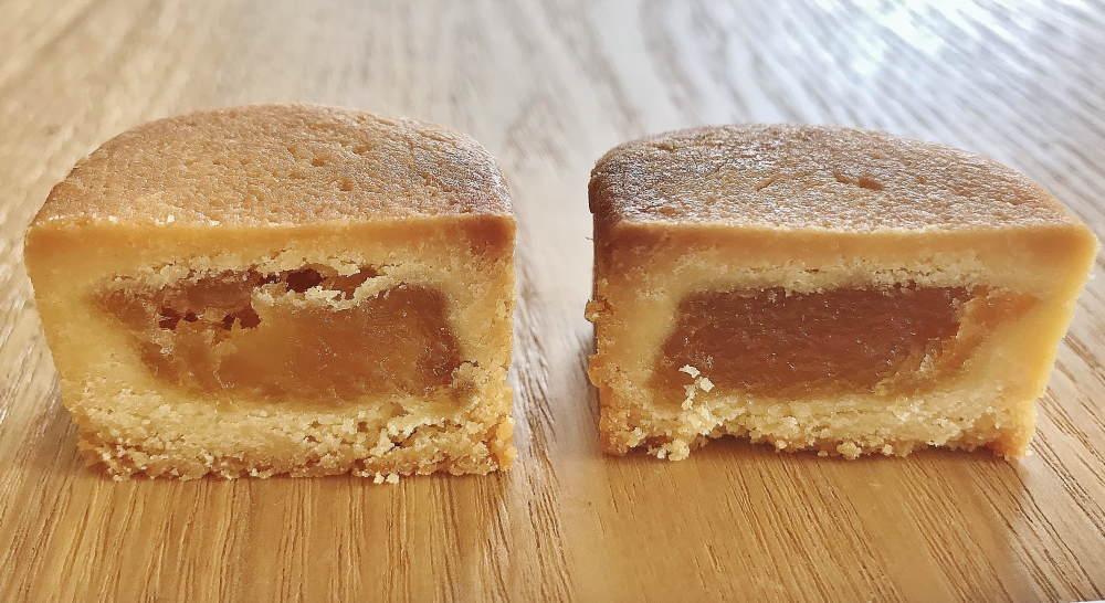 美味しいパイナップルケーキ 「舊振南餅店」の中身