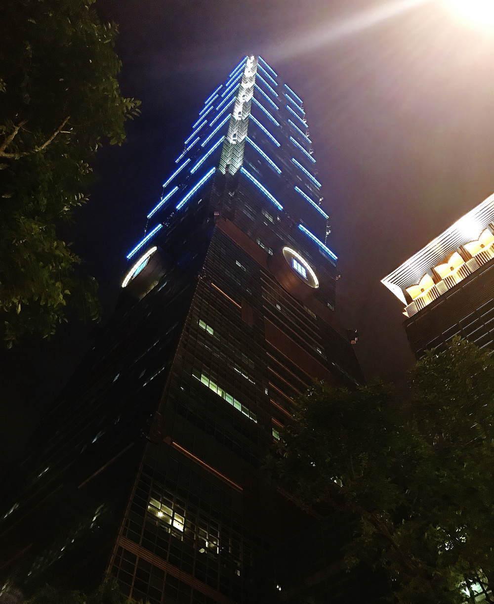 台北101 夜