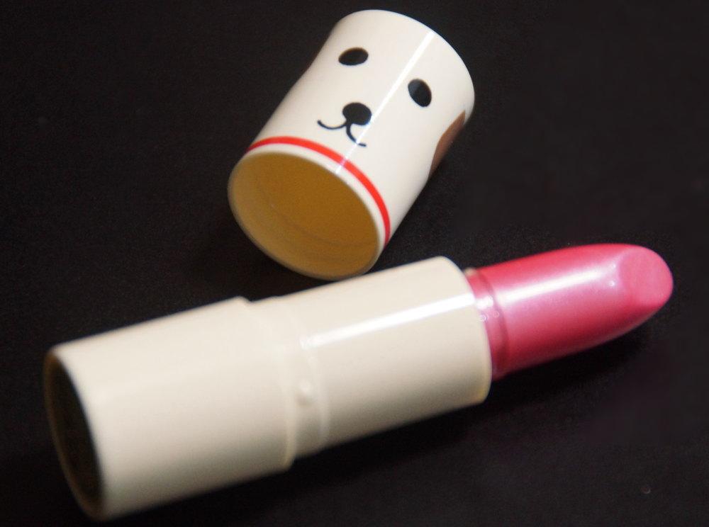 台湾資生堂 リップクリーム 犬 中身 色